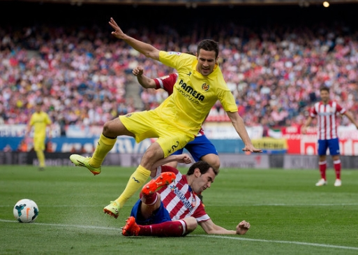 Club Atletico de Madrid – Villarreal CF (Football. Primera)